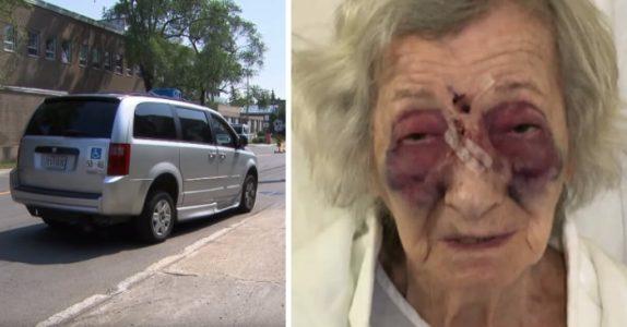 Den 92-årige kvinnen skulle bare besøke datteren sin: Ble brutalt angrepet i taxien