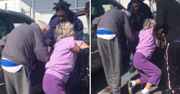 Tre menn omringer det gamle pensjonistparet: Da innser politiet hva som holder på å skje