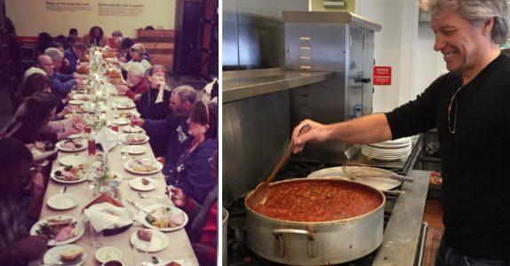 Jon Bon Jovi åpner unik restaurant: Her får fattige familier, gamle og hjemløse GRATIS mat